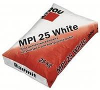 Штукатурная смесь Baumit MPI 25 White, мешок 25 кг.