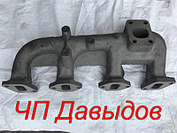 Коллектор выпускной СМД-18/22 (ДТ-75) 4-шпильки