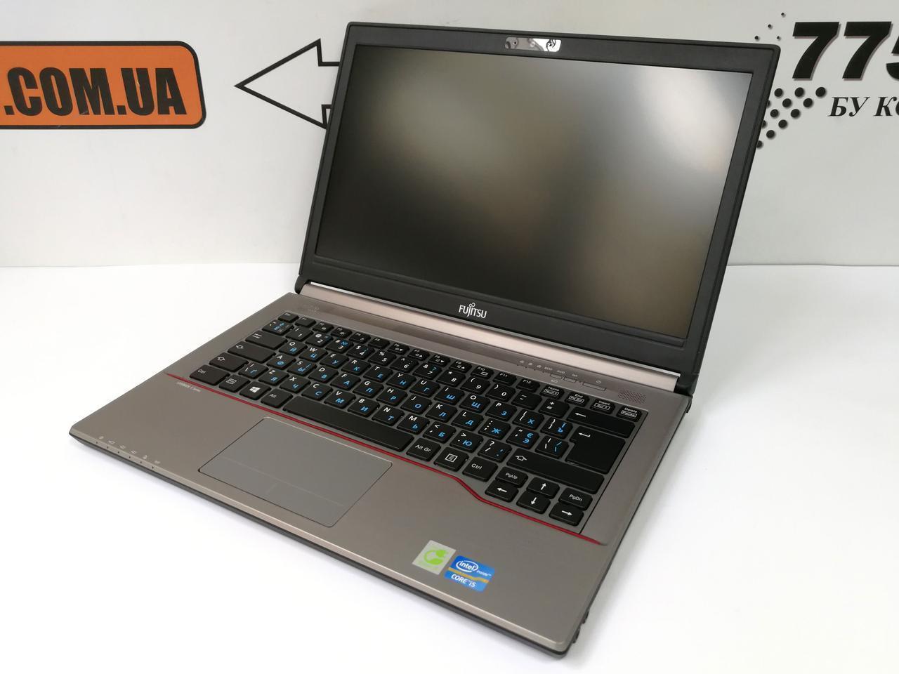 "Ноутбук Fujitsu LifeBook E743, 14"", Intel Core i5-3230M 3.2GHz, RAM 6ГБ, SSHD 500ГБ"