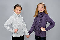 Детские вязанные кофты для детей