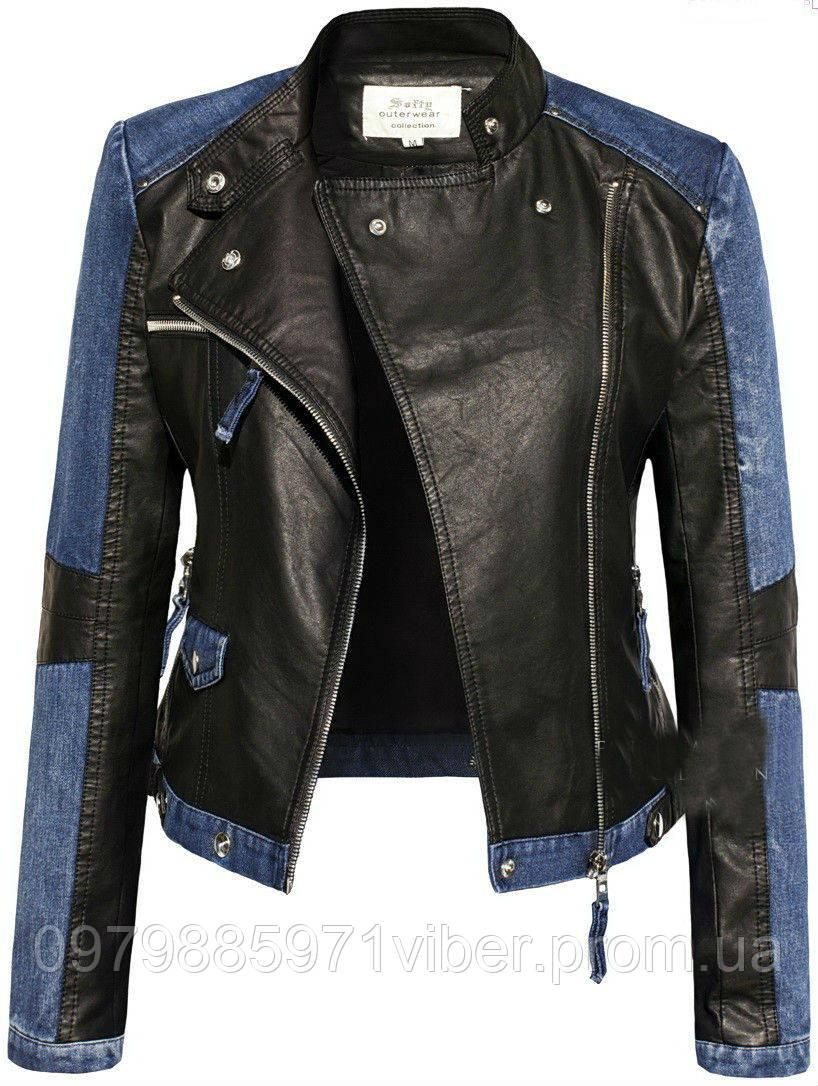 f4758c46e Женская джинсовая куртка косуха - Доставка товаров из Польши в Львове