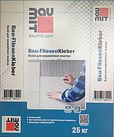 Baumit Bau-FliesenKleber клей для керам. плитки, водо- та  морозостійкий  25кг пал 54 шт