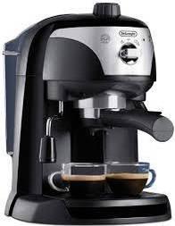 Рожковая кофеварка эспрессо Delonghi EC 221 B