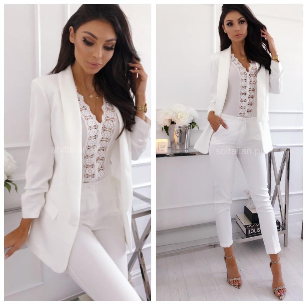 29f1e1889 Класичеcский женский костюм (пиджак + брюки). Размеры 40 42 44 46 48 ...