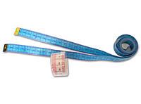 Сантиметр швейный (портновский) 150 см., сантиметровая лента