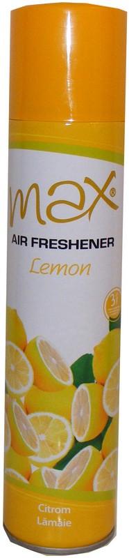 Освежитель воздуха венгерский MAX Лимон (Lemon) Вес нетто: 300 мл