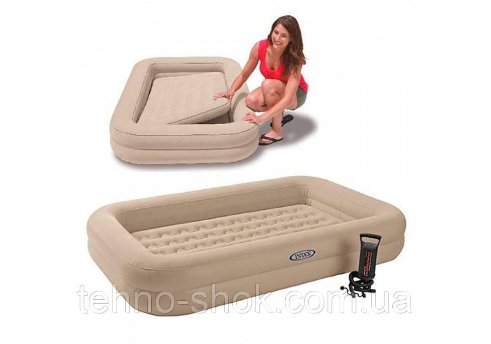 Детская надувная кровать матрас Intex 168х107х25 см (66810)