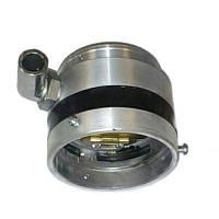 Смеситель газа ВАЗ инжектор с поворотным коленом (Антихлопок) d60  НЗГА (метал)