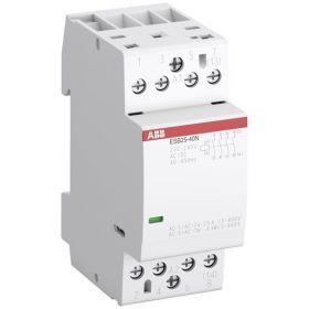 Контактор модульный ESB25-20N-06 25A 2HO 230B AC/DC ABB