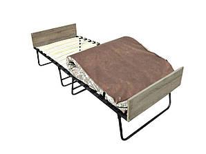 """Раскладушка """"Белла """" раскладушка кровать на ламелях с матрасом"""
