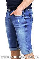 Шорты джинсовые мужские JF MARIO 19-0155 синие, фото 1