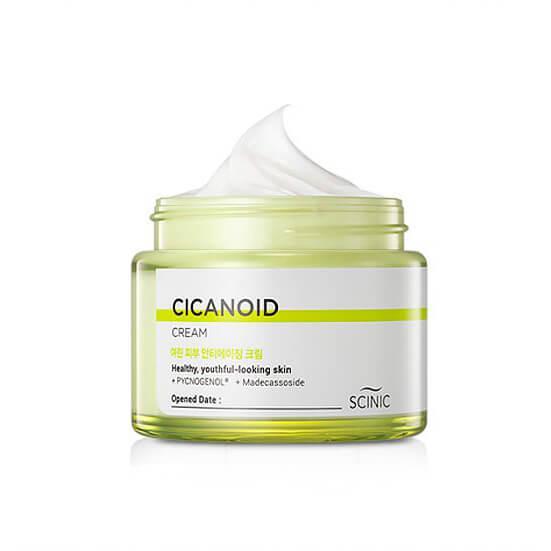 Антивозрастной крем для лица Scinic Cicanoid Cream