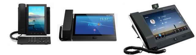 Видеотелефоны Telpo на базе Android