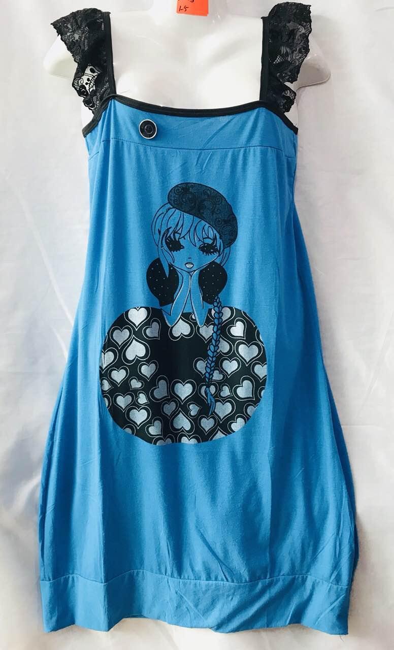 Халат платье 48-58 Хлопок (от 5 шт)