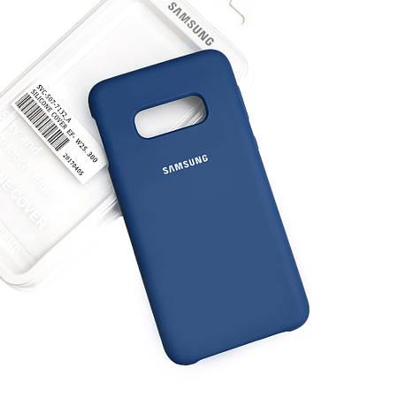 Силиконовый чехол на Samsung S10 Lite Soft-touch Denim, фото 2