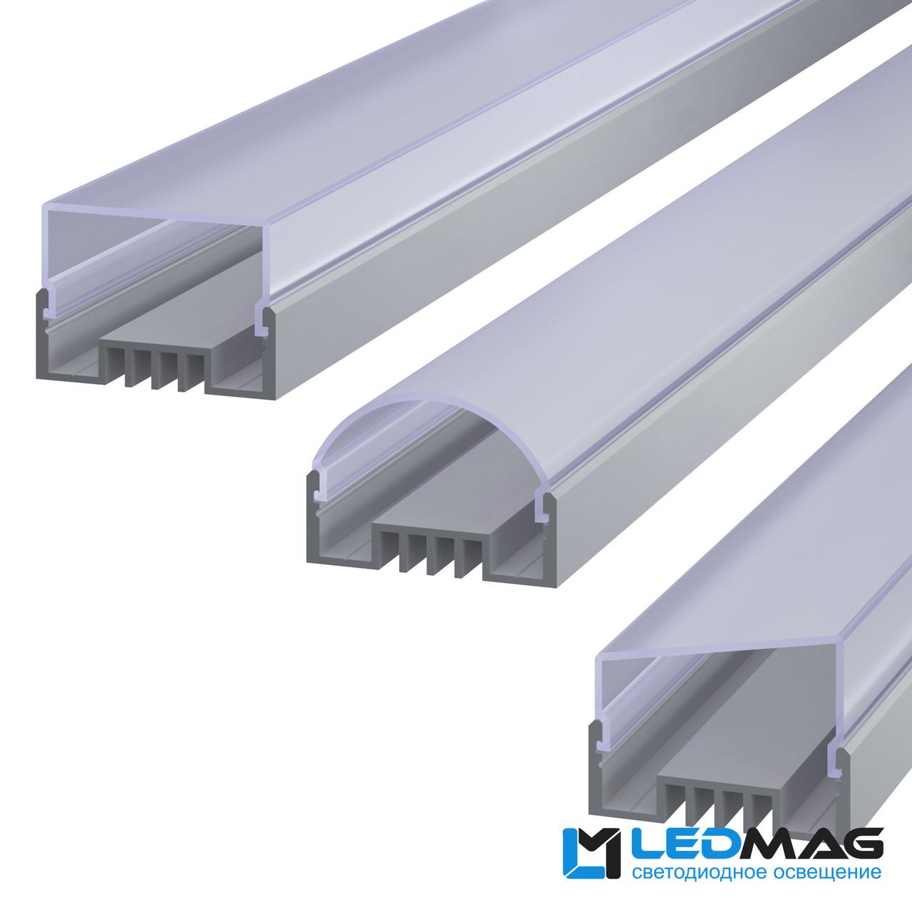 Профиль для светодиодной ленты накладной LSO
