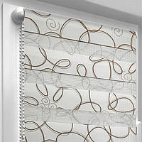 "Рулонная штора ""Зебра-Provance"" Picasso  40.0 x 170 см, фото 1"