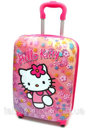 """Валіза дитячий на 4 колесах """"Hello Kitty"""" L 18"""""""