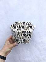 Коробка из тонкого картона неправильная шестигранная мала, фото 1