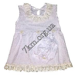 Платье с беретиком прошва 9-12-18 месяцев Оптом 220500 желтое