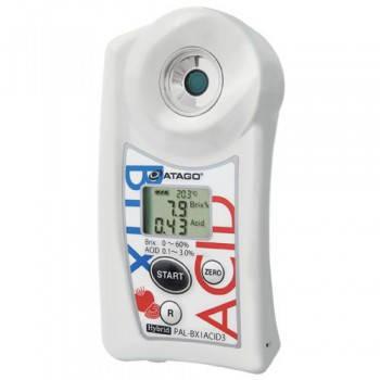Измеритель кислотности и Brix в жидких приправах, Atago, фото 2