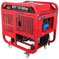 Дизельный генератор EST 10-3dap