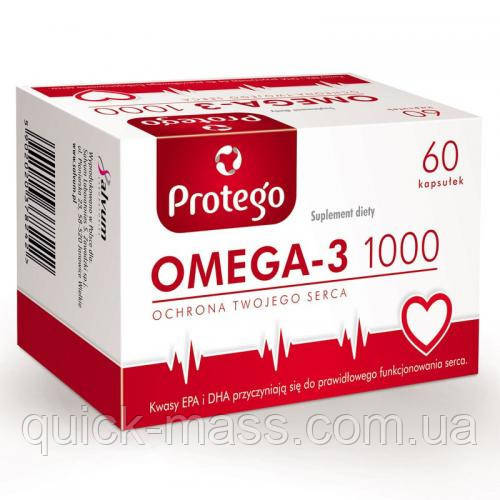 Омега-3 Salwum Protego Omega-3 1000 60caps