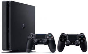 Игровая приставка Sony PlayStation 4 Slim (PS4 Slim) 500Gb + 2 джойстика