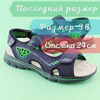 Босоножки сандалии на мальчика размер 36, фото 1