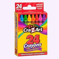 Карандаши восковые Cra Z Art 24 шт 10201