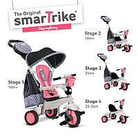 Триколісний велосипед Smart Trike Deluxe Pink (6500700)
