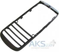 Передняя панель корпуса (рамка дисплея) Nokia 300 Asha Grey