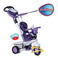 Триколісний велосипед Smart Trike Dream Touch Steering 4 в 1 Violet (1590700)
