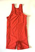 Трико борцовское, бифлекс красное р, 38 на рост 120-130 см