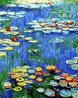 Картина по номерам Водяные лилии Клод Моне (VP1103) 40 х 50 см DIY Babylon