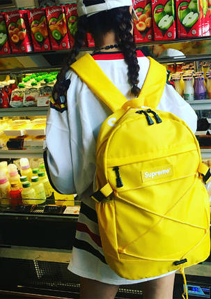 Рюкзак Supreme Madrid - (желтый) 25 л., фото 2