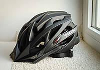 Шлем велосипедный Moon Black матовый, фото 1