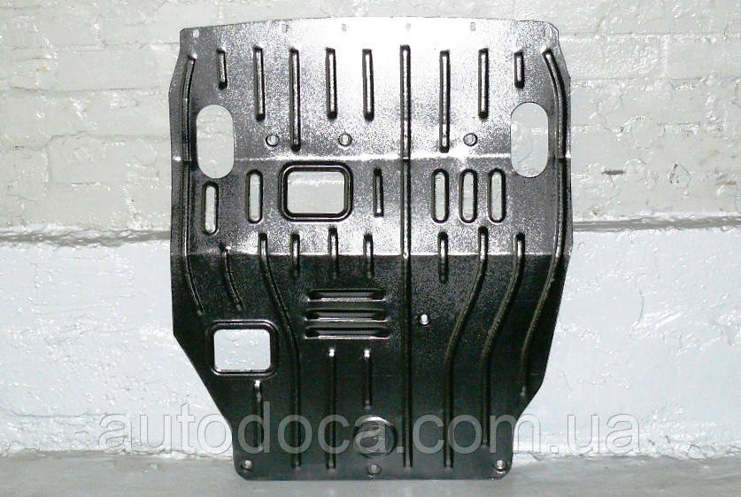 Защита картера двигателя и кпп Mitsubishi Lancer Evolution X 2008-