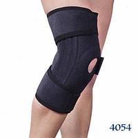 Бандаж ортез на коленный сустав со спиральными ребрами жесткости. Размер универсальный