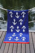 Велюровое полотенце Lotus пляжное Jetty 75*150