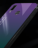 Комплект чехол TPU+Glass Gradient HELLO для Xiaomi Redmi Note 7 / Redmi Note 7 Pro + стекло TOMKAS на дисплей!, фото 4