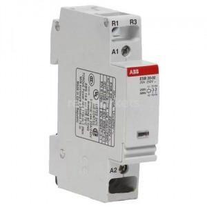Контактор модульный ESB20-20N-06 20A 2HO 220V ABB