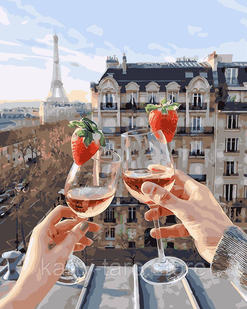 раскраска для взрослых шампанское и клубника Bk Gx24907 40 х 50 см без коробки Bigl Ua