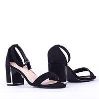 Босоножки на каблуке Sopra FY5880-1 BLACK Z 36 23 см, фото 1
