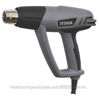 Фен промышленный TITAN 2000w c набором насадок из Англии