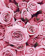 Картина по номерам Нежные розы (AS0248) 40 х 50 см ArtStory