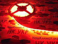 Светодиодная лента SMD 2835\3528 Красный, 60led/m, 4.8W/m, длинна 5м., ширина8мм., IP65 , MTK 300RF2835-12V