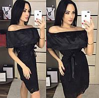 Красивое кружевное гипюровое платье,см.замеры в описании!!!, фото 1