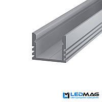 Профиль для светодиодной ленты накладной LP12, фото 1