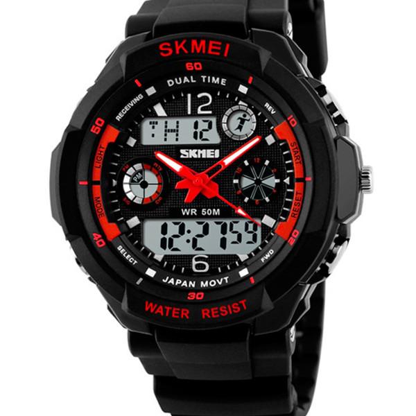 Skmei Мужские часы Skmei S-Shock Red 0931R